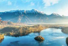 3 nap/2 éjszaka a csodás Bledi-tónál, 2 fő részére, reggelivel, wellness-szel - Hotel Triglav****
